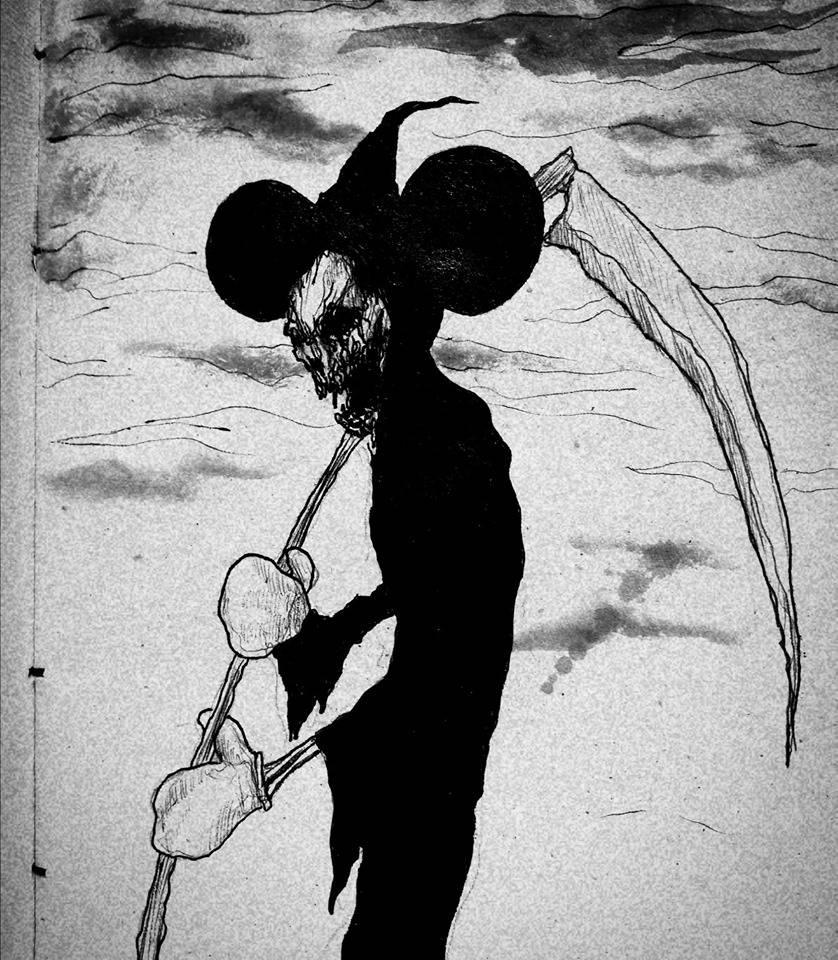 Dark Mickey Mouse - Maxime Taccardi