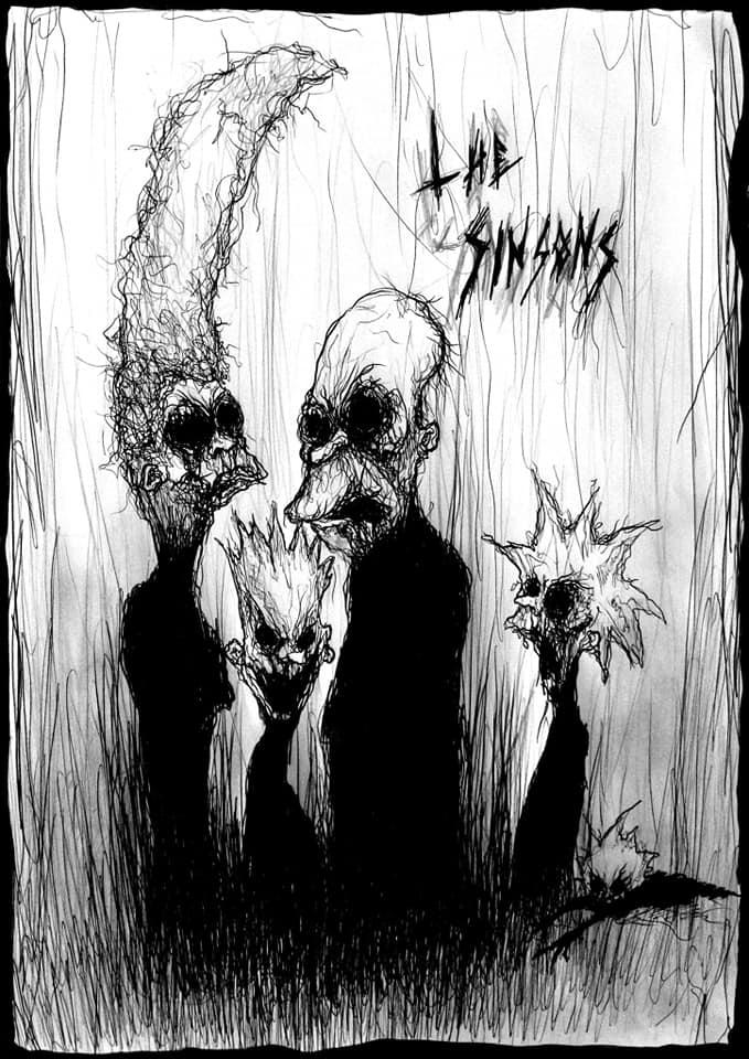 The Sinsons - Maxime Taccardi - Cartoni animati horror