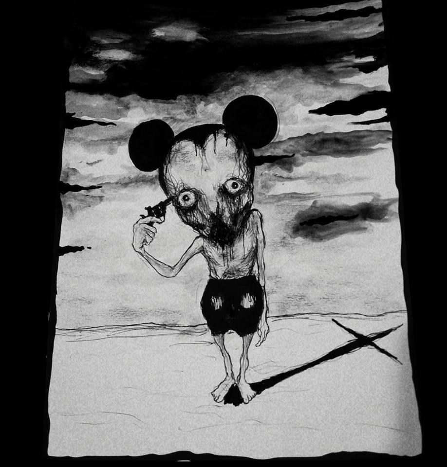The End of Childhood - Maxime Taccardi - Cartoni animati horror