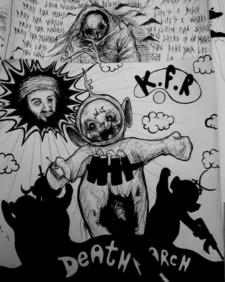 Dark Teletubbies - Maxime Taccardi - Cartoni animati horror