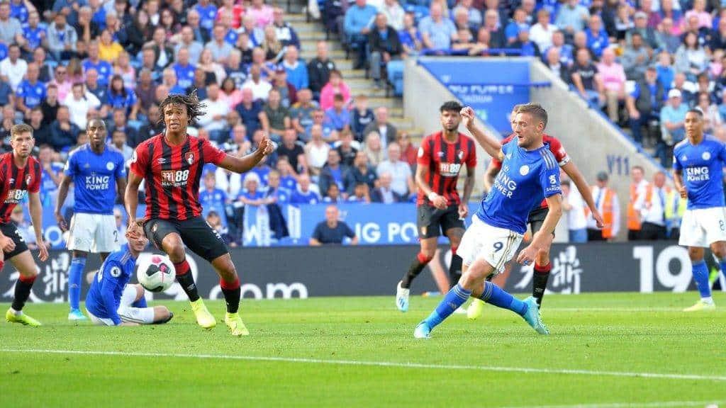 Il gol del 3 a 1 di Vardy (Premier League)