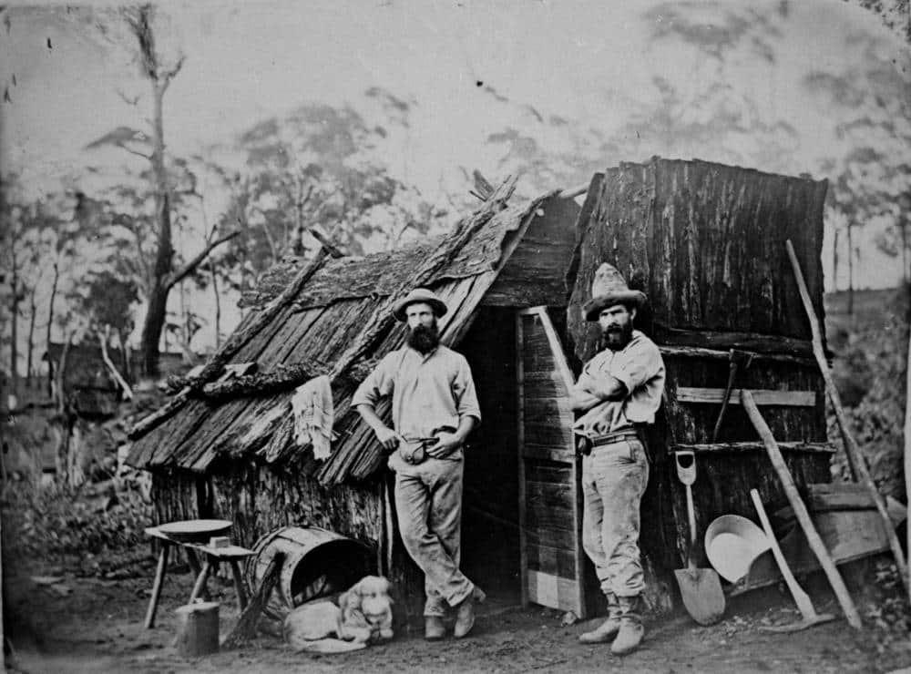Minatori d'oro in queensland (Australia)