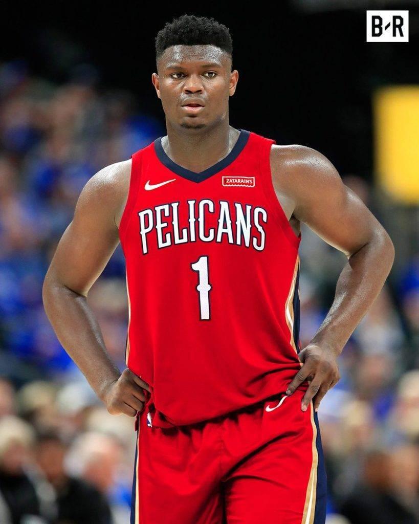 Zion Williamson in maglia Pelicans