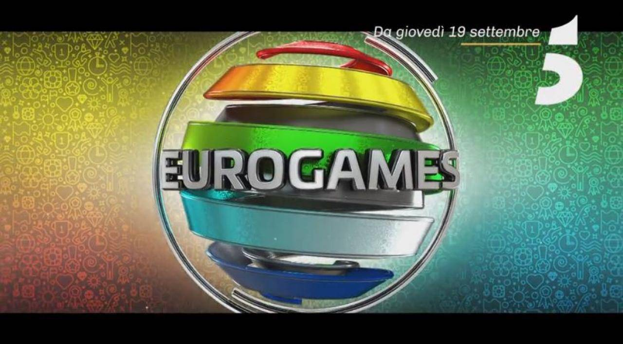 Logo di Eurogames - Photo Credit: Mediaset Play