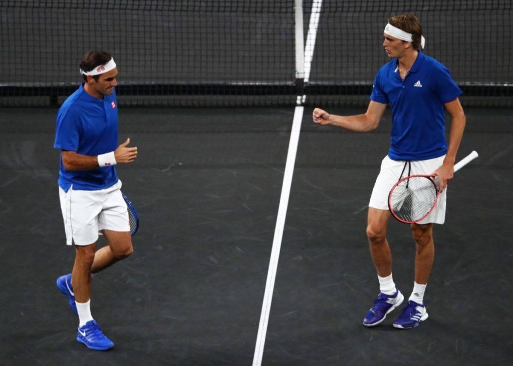 Federer e Zverev