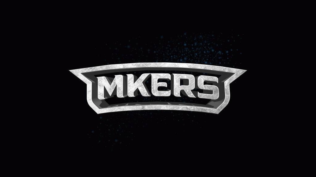 Logo della startup Mkers, che si occupa di eSport e quest'anno ha stretto una partnership con il Romics