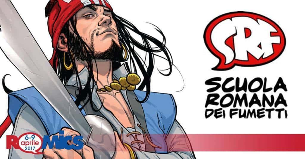 La Scuola Romana di Fumetti è presente al Romics XXVI di ottobre 2019