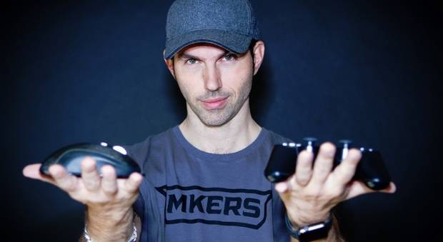 Thomas De Gasperi, cofondatore di Mkers, startup italiana che si occupa di eSport, che ha stretto una partenrship con il romics di ottobre 2019