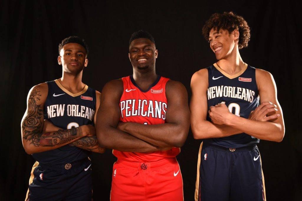 I rookie scelti da NOLA al Draft NBA