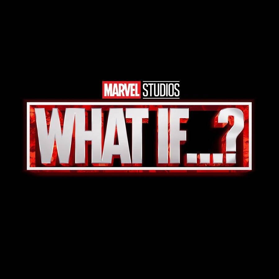 Logo What if, nuova serie su Disney Plus ad agosto 2021.