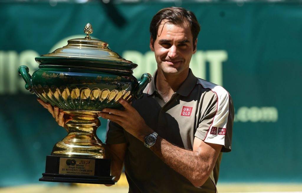 Roger Federer Halle 2019