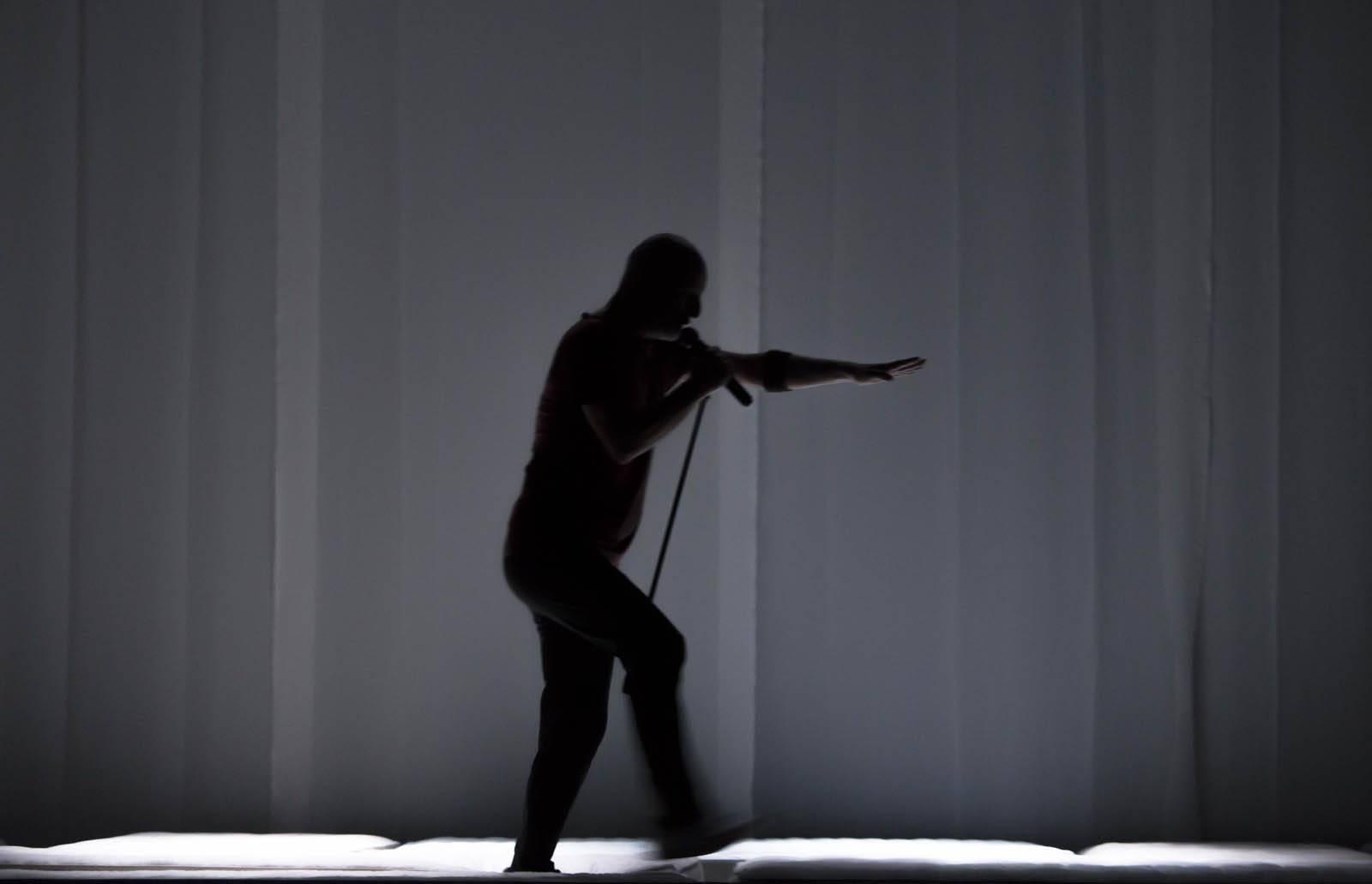 In Exitu al Palladium - Roberto Latini - dal web