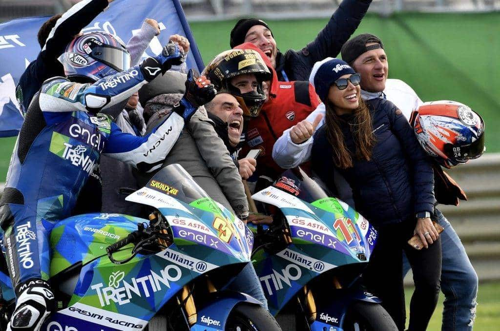 MotoE Matteo Ferrari campione