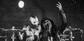 Cristina Scabbia dei Lacuna Coil eri sera sul palco dell'Orion Club di Ciampino - Ph © Pasquale Colosimo