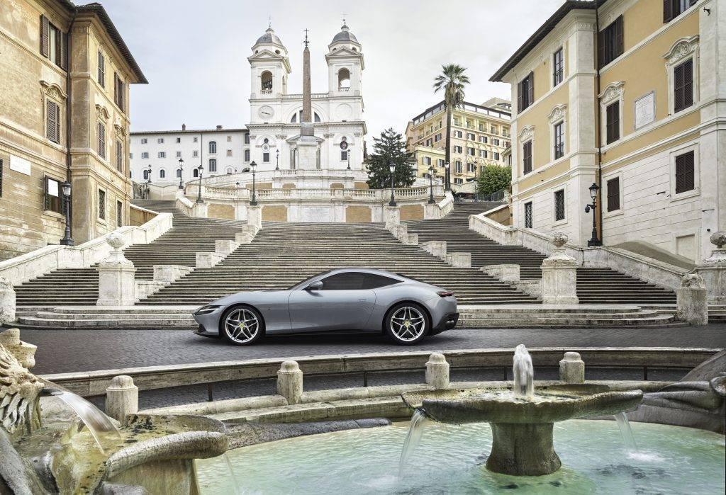 Ferrari Roma presentazione