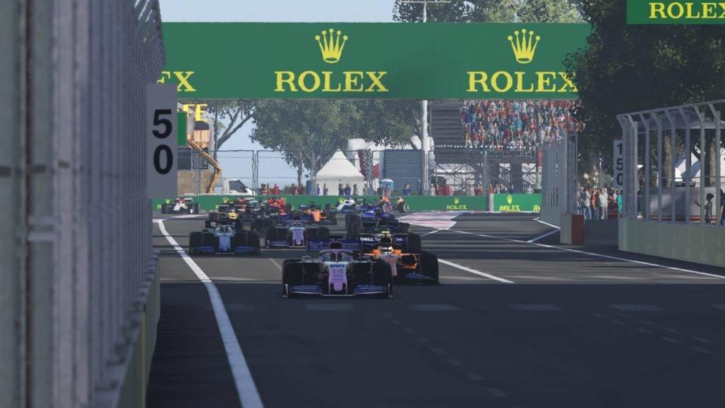 Partenza TDR2 GP d'Azerbaijan