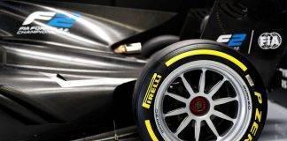 Nuovi pneumatici Formula 2