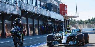 Rossi ed Hamilton