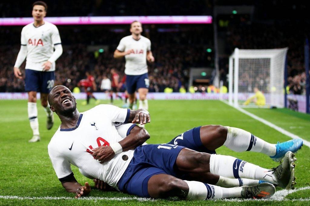 Premier League:  tutta la felicità di Sissoko dopo la rete del 3 a 0