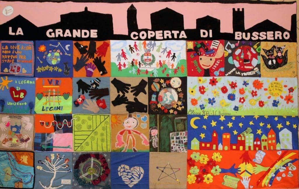 La grande coperta di Bussero - Trame & Intrecci  Franco Arminio