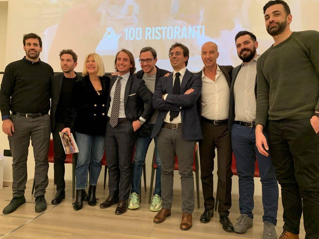Conferenza stampa di presentazione Rossopomodoro: la prima volta in TV