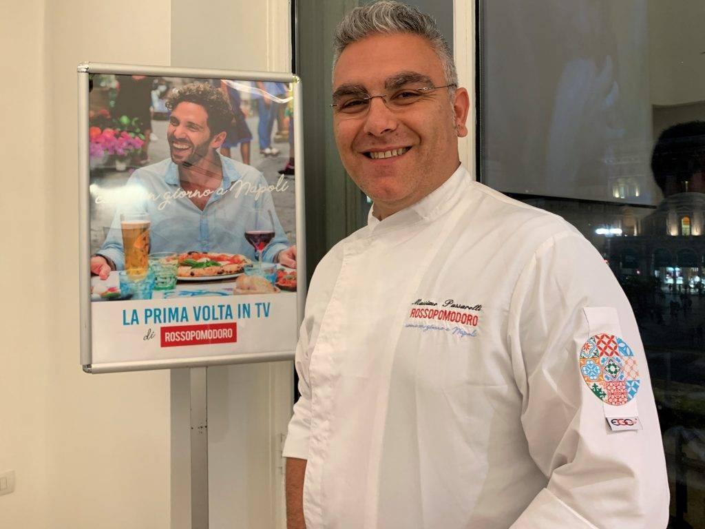 Lo chef di Rossopomodoro Massimo Passarelli