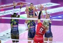 Volley femminile: Champions e CEV