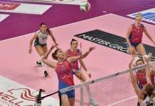 Volley A1 Femminile quindicesima giornata