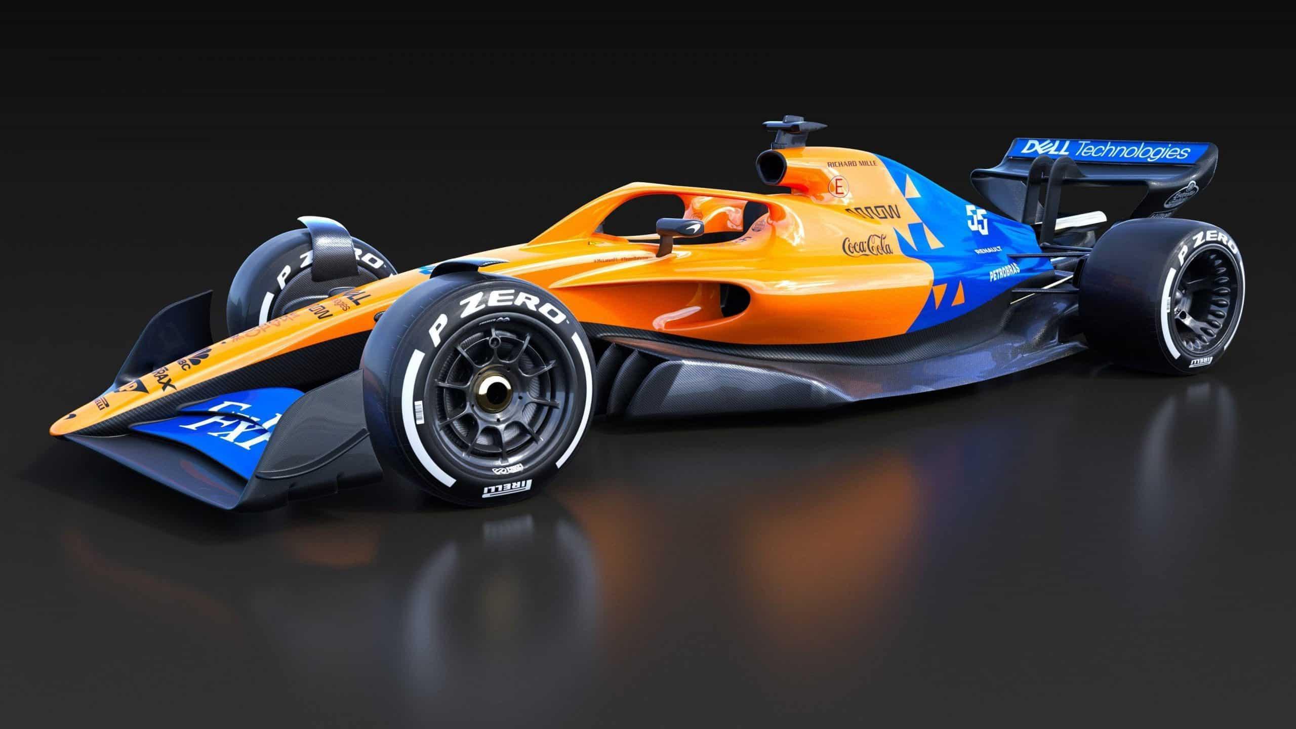 McLaren 2021: la nuova vettura già in galleria del vento ...