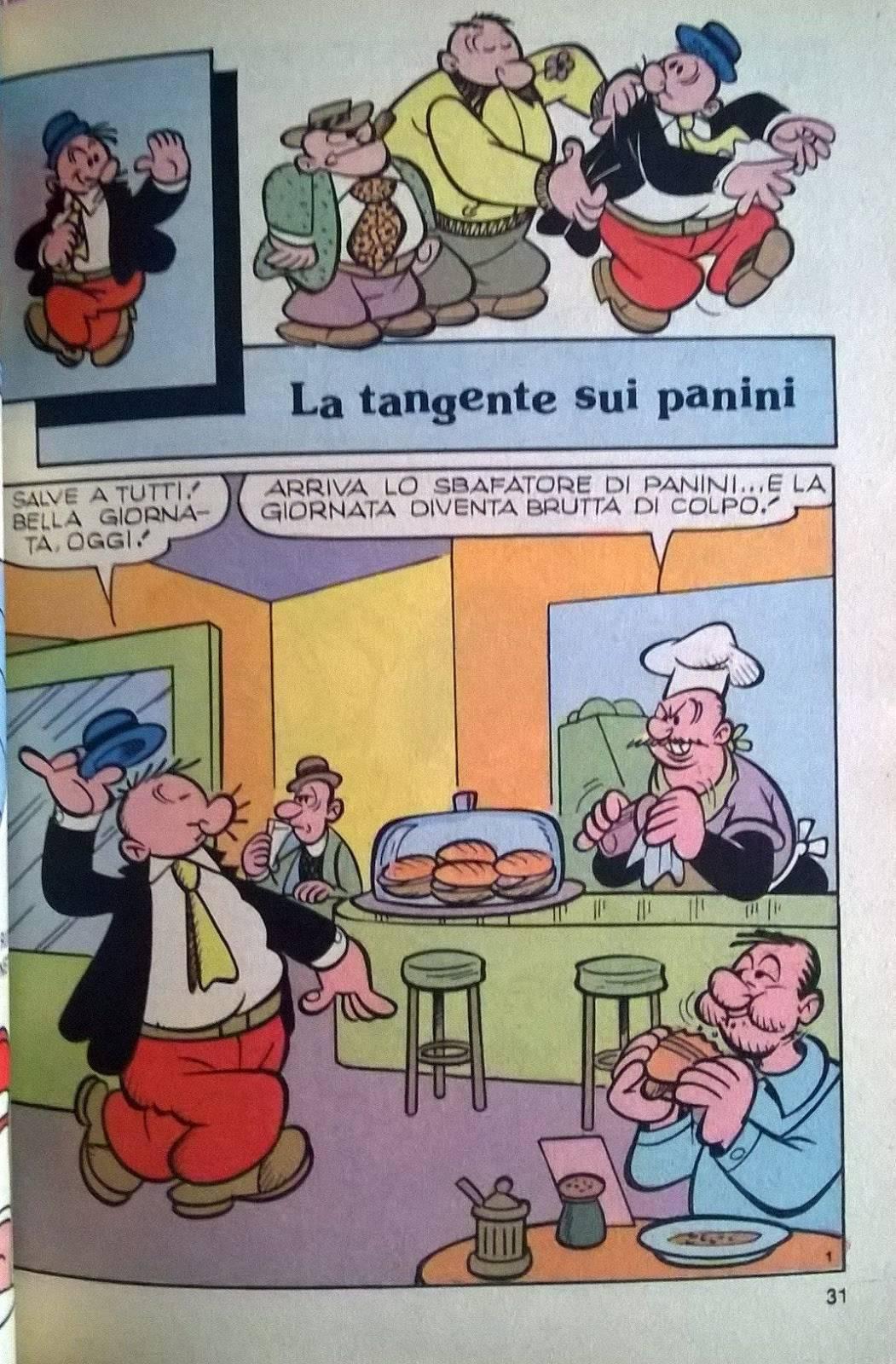 Un fumetto con Poldo.