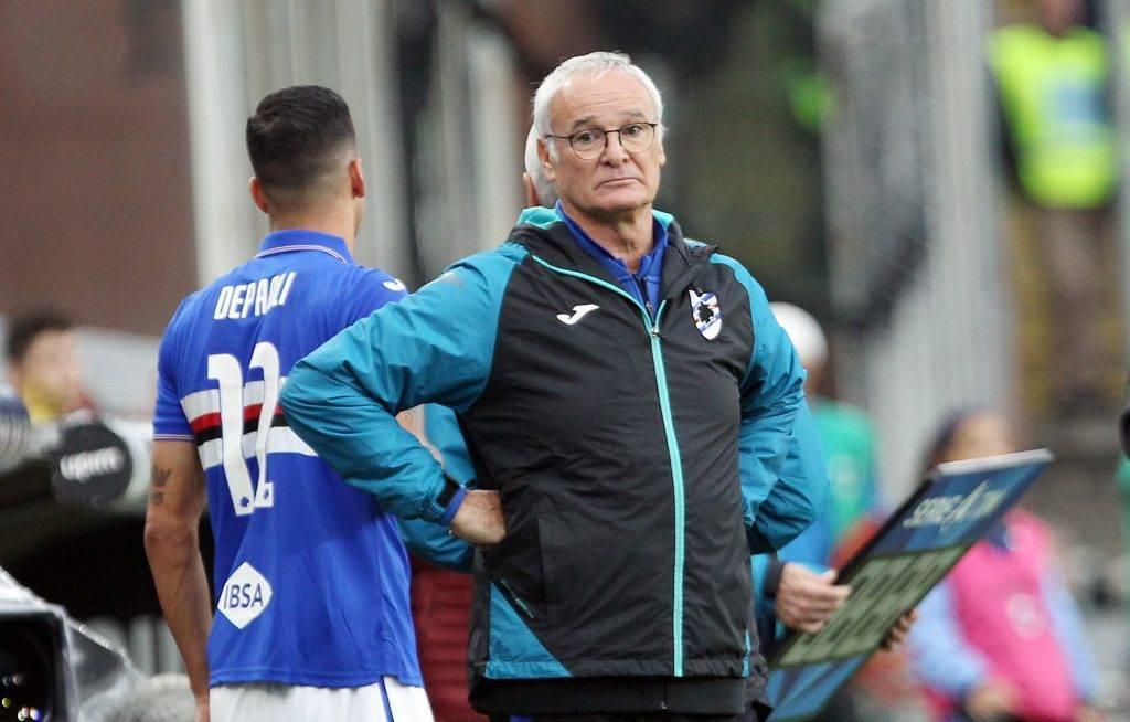 Lazio-Sampdoria, ecco i dubbi del tecnico blucerchiato Claudio Ranieri.
