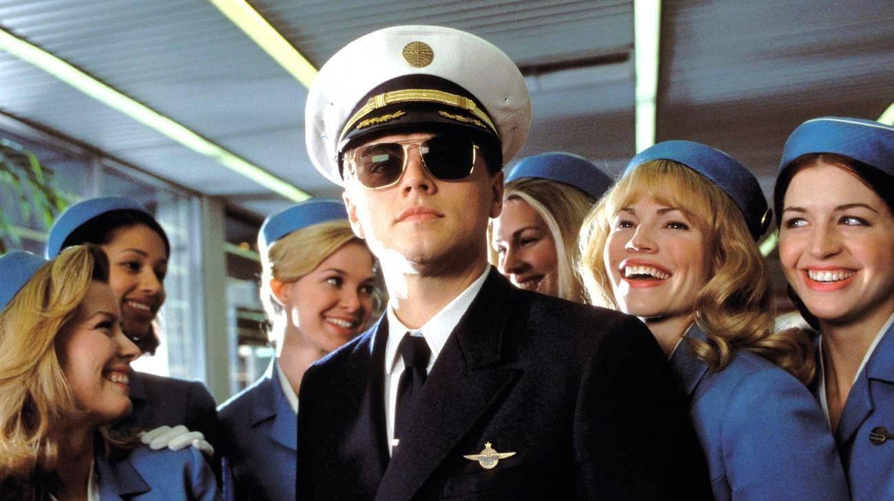 """Prova a prendermi"""", Leonardo DiCaprio nei panni di un truffatore in fuga"""