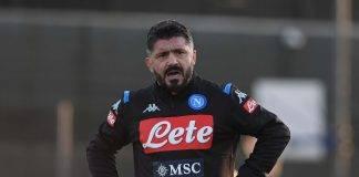 Gattuso, allenatore del Napoli
