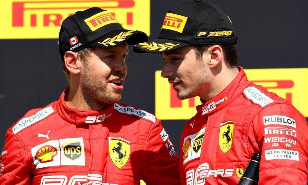 Vettel contratto Ferrari