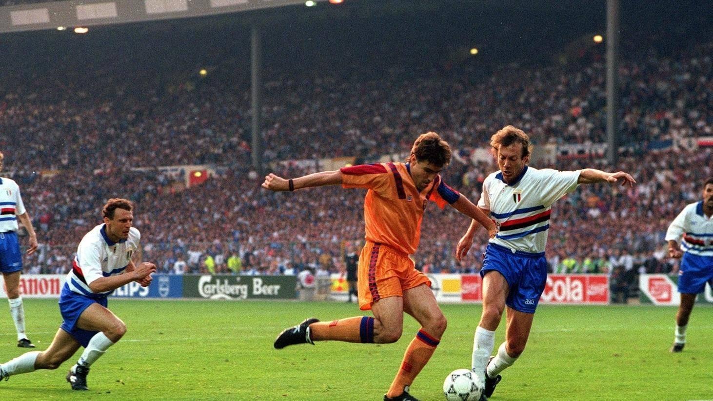 Sampdoria: 28 anni fa Koeman infrangeva il sogno Champions