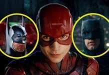 Flash Ben Affleck Michael Keaton