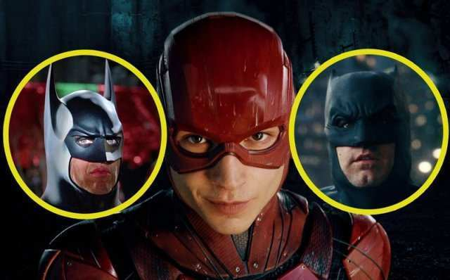 Flash Ben Affleck Michael Keaton