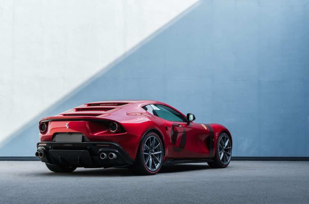 Ferrari<br>   Omologata, la nuova one off di Maranello