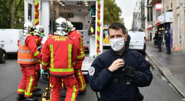 Parigi |  attentato vicino alla vecchia sede di Charlie Hebdo