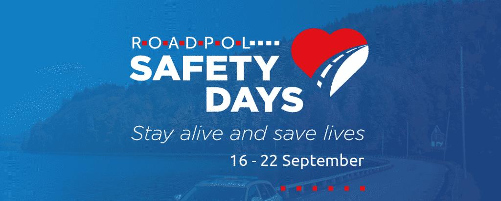 """Progetto SAFETY DAYS – ROADPOL""    zero vittime sulle strade d'Europa"