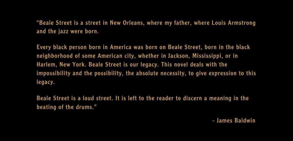 """Beale Street"", James Baldwin attraverso lo sguardo di Barry Jenkins"