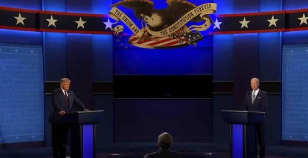 Donald Trump vs Joe Biden: il dibattito televisivo finisce nel caos