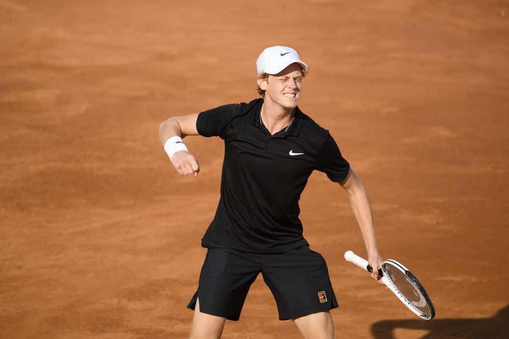 Roland Garros |  tabellone principale |  entra Cecchinato |  Sinner ha Goffin