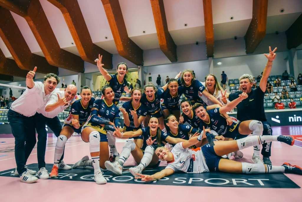 Volley    A1 femminile    i risultati della 1a giornata