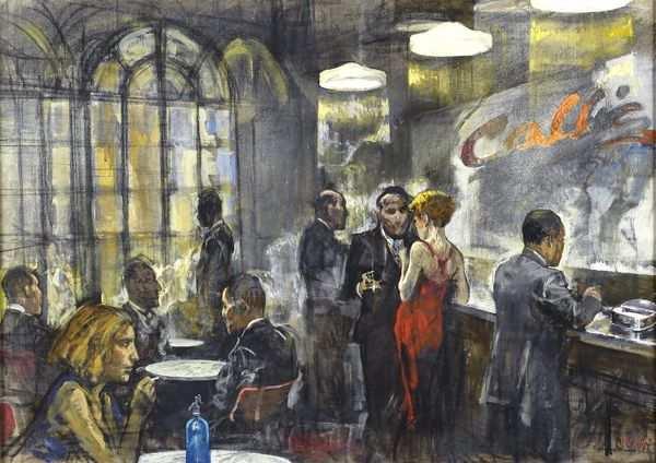Alberto Sughi, Notturno - Tema della Sera - Photo Credits: web