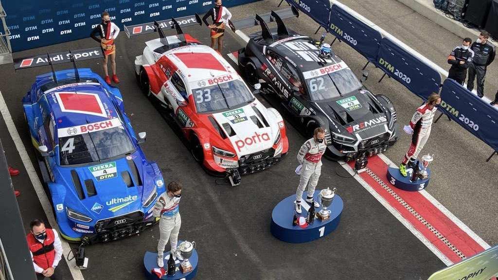 DTM Zolder 2 podio