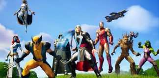 Marvel x Fortnite