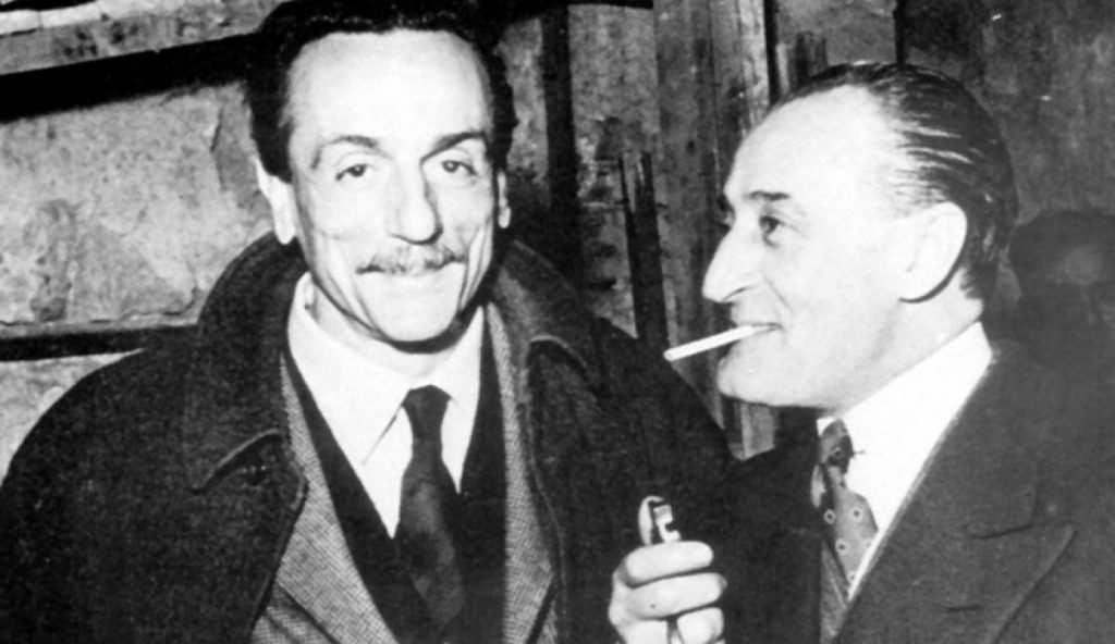 Eduardo De Filippo e Totò - photo credit: sito web Fanpage