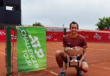 Galan ATP Challenger Lima - Photo Credit: via instagram, @limachallenger