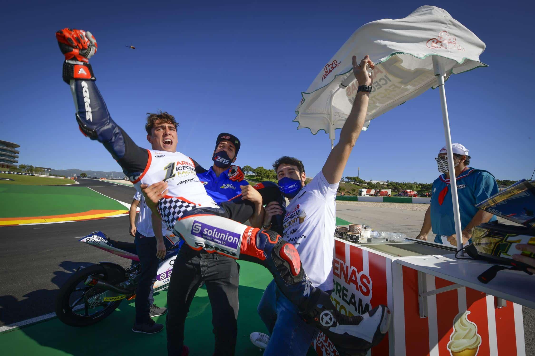 Gara Moto3 GP Portogallo 2020, il mondiale è di Arenas